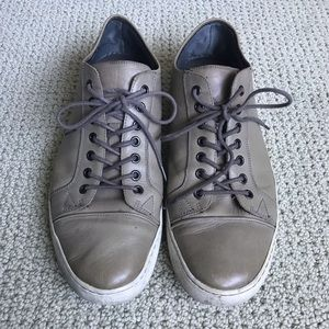 Kenneth Cole Double Down Leather Sneakers